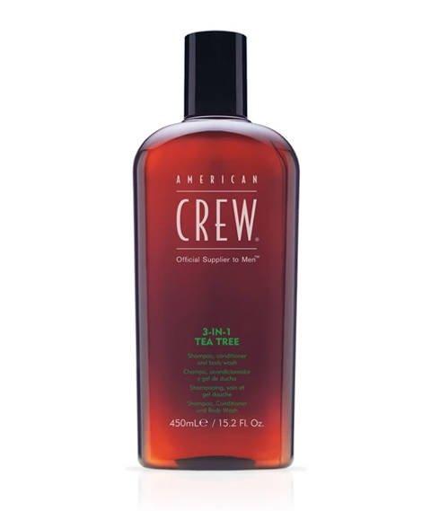 American Crew-3 in 1 Tea Tree 450 ml.