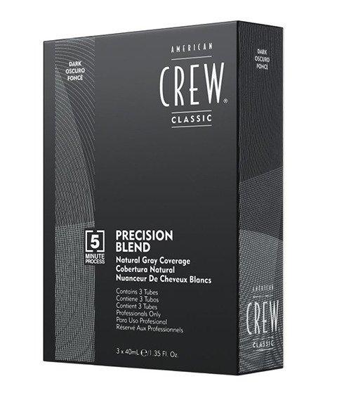 American Crew-Precision Blend Farba Odsiwiacz do Włosów 2-3 Dark