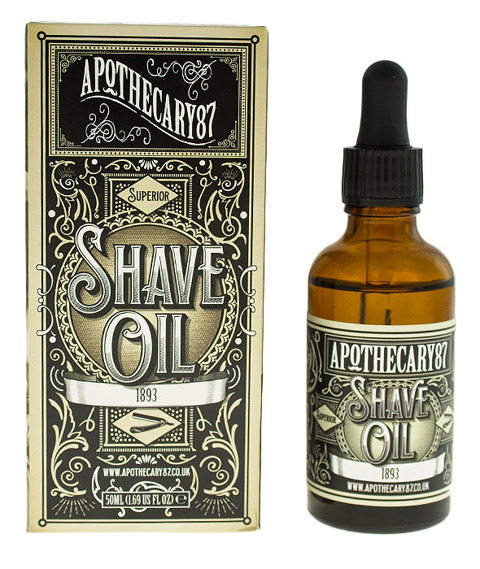 Apothecary 87-1893 Shave Oil Olejek do Golenia 50 ml