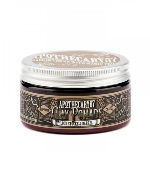 Apothecary 87-Clay Pomade Lock, Stocke & Barrel Pomada do Włosów 100g