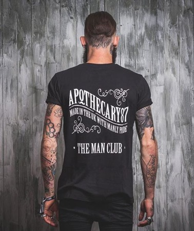 Apothecary 87-Original Design T-Shirt Black