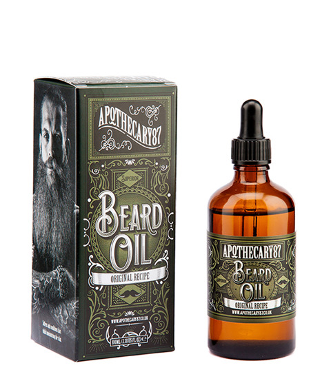 Apothecary 87-Original Recipe Beard Oil Olejek do brody 100ml