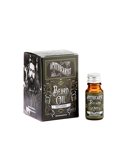 Apothecary 87-Vanilla & Mango Beard Oil Olejek do Brody 10ml