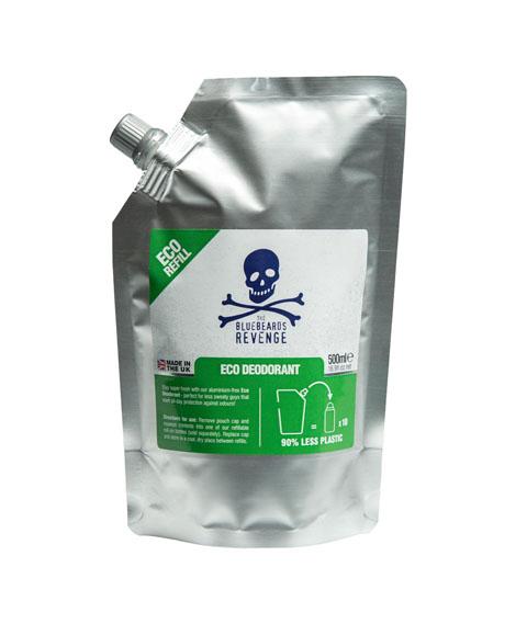 Bluebeards Revenge-Eco-Warrior Deodorant Dezodorant Uzupełnienie 500 ml