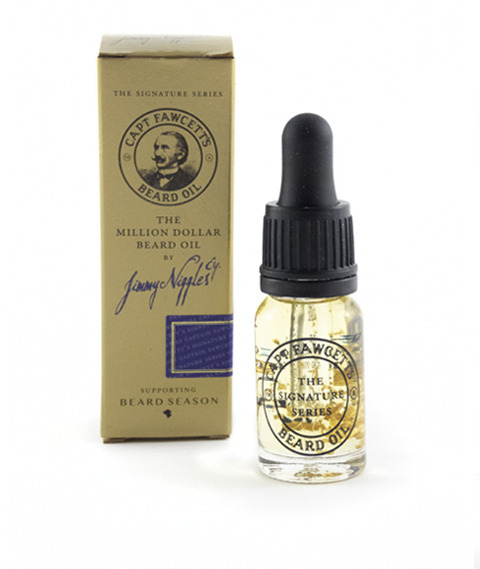 Captain Fawcett's-Jimmy Niggles Million Dollar Beard Oil Olejek do Brody 10 ml