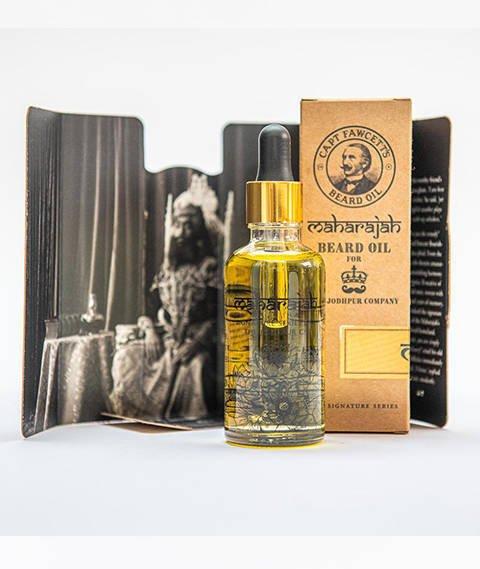 Captain Fawcett's-Maharajah Beard Oil Olejek do Brody 50 ml