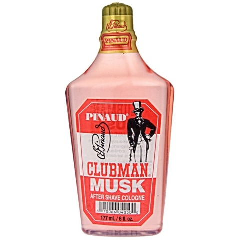Clubman Pinaud-Musk Aftershave Cologne 177ml
