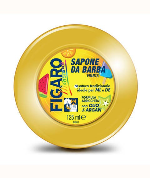 Figaro-Shaving Soap Fruits Mydło do Golenia 125 g