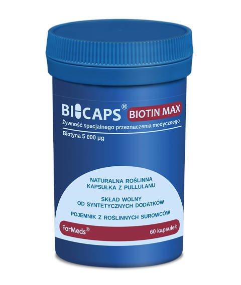ForMeds-BICAPS BIOTIN MAX Suplement Diety z Biotyną 60 kapsułek