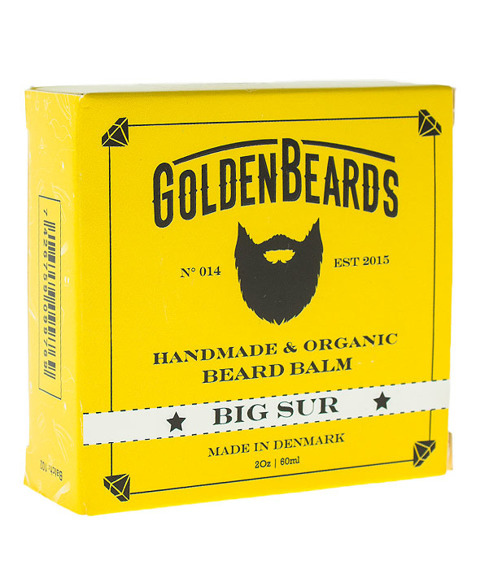 Golden Beards-Beard Balm Big Sur Balsam do Brody 60ml