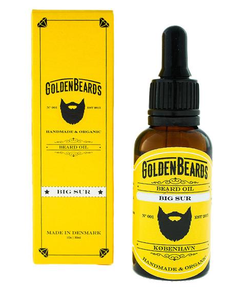 Golden Beards-Beard Oil Big Sur Olejek do Brody 30 ml