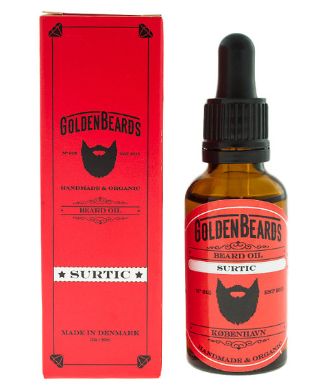 Golden Beards-Beard Oil Surtic Olejek do Brody 30ml
