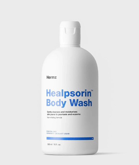 Hermz-Healpsorin Body Wash Delikatna Emulsja do Mycia Skóry 500ml