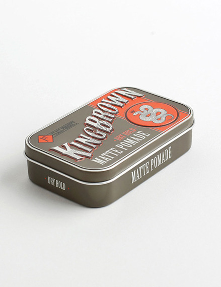 King Brown-Matte Pomade Matowa Pomada do Włosów 75g