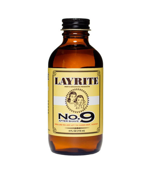 Layrite-Bay Rum No. 9 Aftershave Woda po Goleniu 118 ml