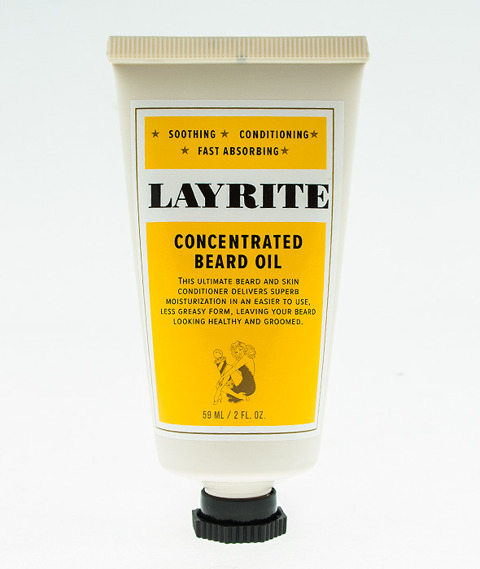 Layrite-Concentrated Beard Oil Skoncentrowany Olejek do Brody 50ml
