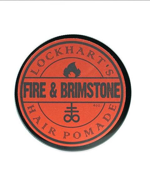 Lockhart's-Fire and Brimstone Heavy Hold Pomada do Włosów 113g