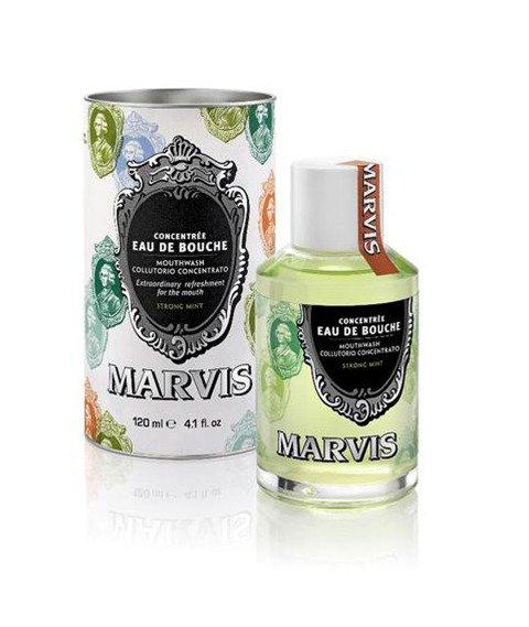 Marvis-Eau De Bouche Strong Mint Płyn do Płukania Ust 120ml