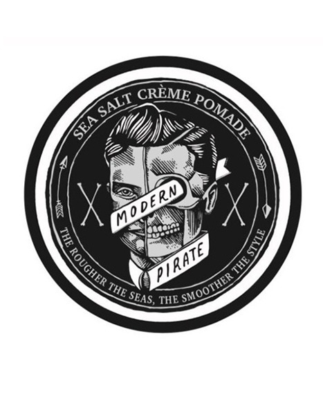 Modern Pirate-Sea Salt Creme Pomade Pasta do Włosów 95ml