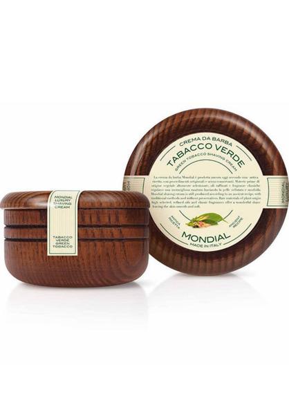 Mondial 1908-Luxury Wood Zielony Tytoń Krem do Golenia 140ml