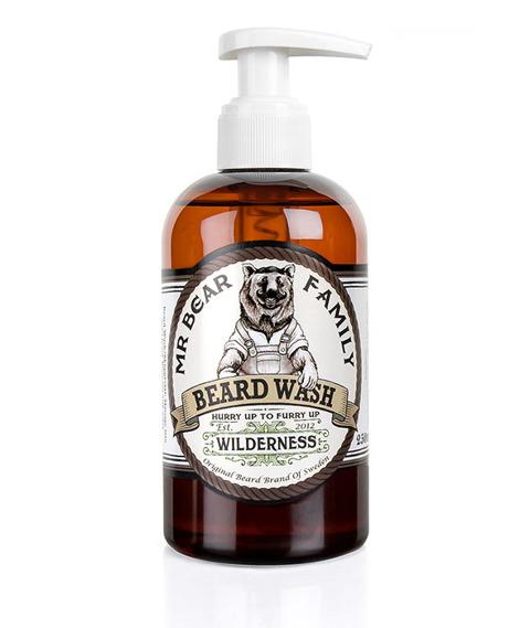 Mr Bear-Beard Wash Wilderness Szampon do Brody 250 ml