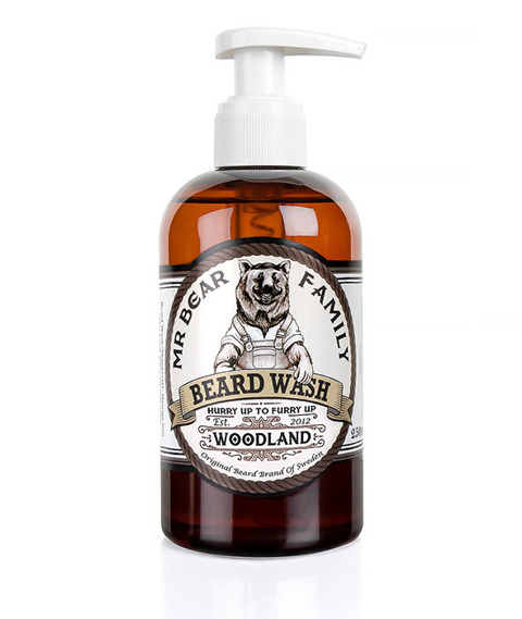 Mr Bear-Beard Wash Woodland Szampon do Brody 250 ml