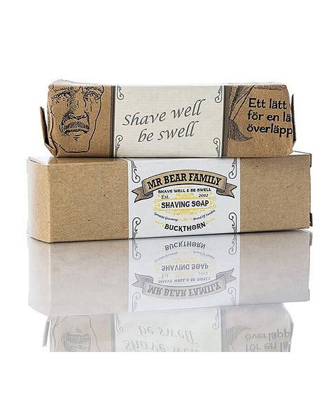 Mr Bear-Shaving Soap Buckthorn Mydło do Golenia 80g