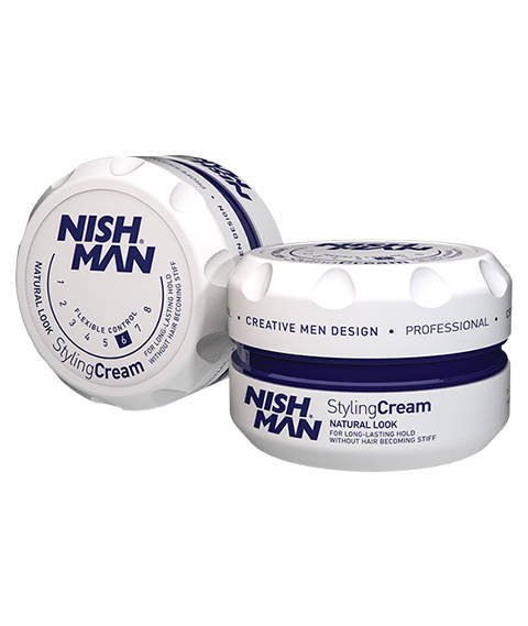 Nishman-Natural Look Styling Cream Gel Pomada do Włosów 150 ml