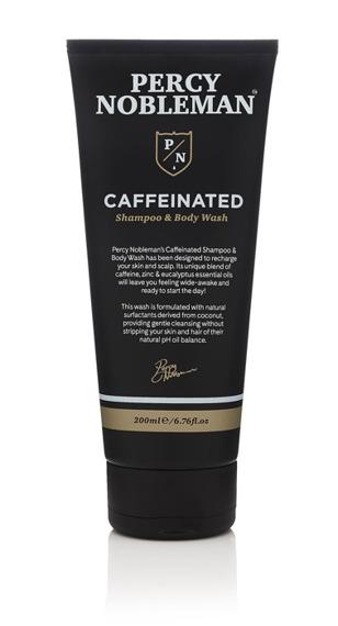 Percy Nobleman-Coffeinated Shampoo & Body Wash 200ml