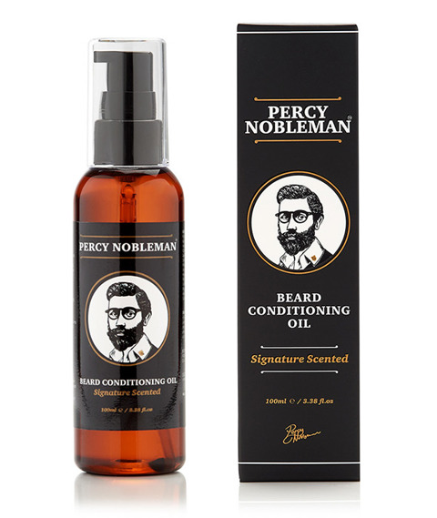 Percy Nobleman-Signature Scented Beard Oil Zapachowy Olejek do Brody 100ml