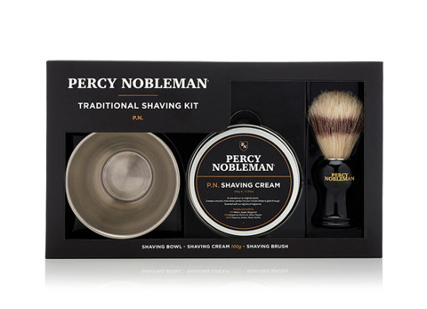 Percy Nobleman-Traditional Shave Kit Zestaw do Golenia