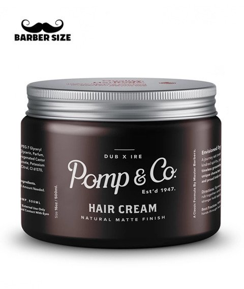 Pomp & Co.-Hair Cream Matowa Pasta do Włosów 455g