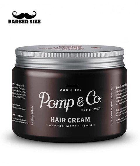 Pomp & Co.-Hair Cream Matowa Pasta do Włosów 500ml