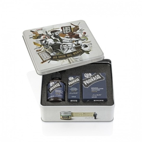 Proraso-Beard Kit Azur Lime Zestaw