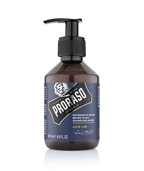 Proraso-Beard Wash Azur Lime Szampon do brody 200ml
