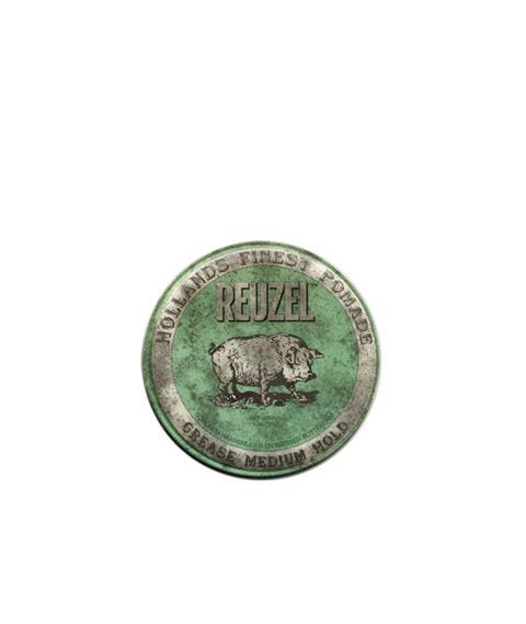 Reuzel-Green Grease Medium Hold Piglet Woskowa pomada 35g
