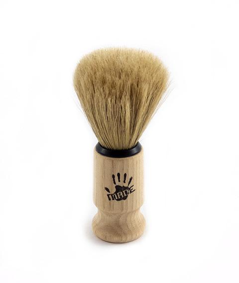 Shaving Factory-Pędzel do Golenia z Drewnianą Rączką rozm. M