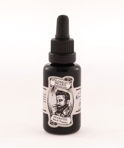 Solomon's Beard-Oil Black Pepper Olejek do brody 30 ml