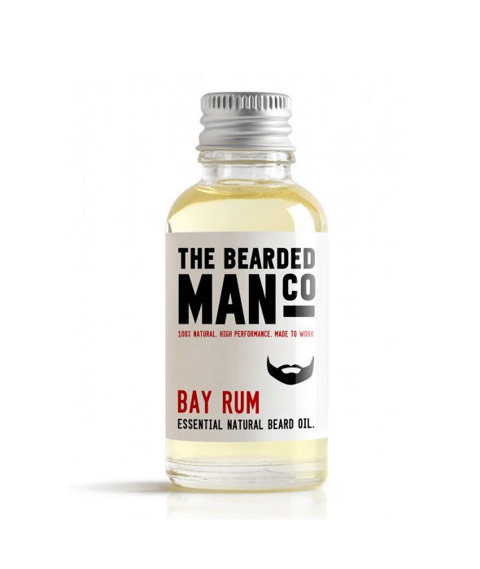 The Bearded Man-Bay Rum Beard Oil Olejek Do Brody 30 ml