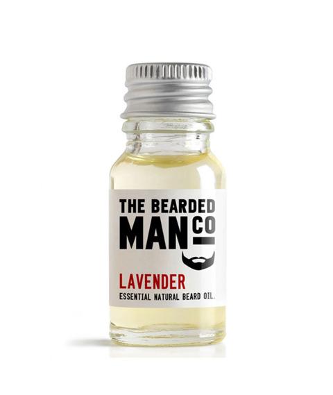 The Bearded Man-Lavender Beard Oil Olejek Do Brody 10ml