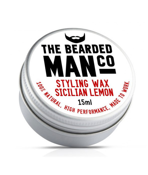 The Bearded Man-Sicilian Lemon Moustache Wax Wosk do Wąsów 15g