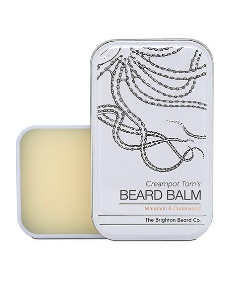 The Brighton Beard Co-Creampot Tom's Beard Balm Mandarin And Cedarwood Balsam do Brody 30ml