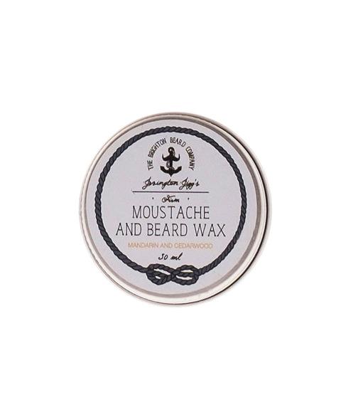 The Brighton Beard Co-Jevington Jigg's Firm Moustache Wax  Mandarin And Cedarwood Wosk do Wąsów 30ml