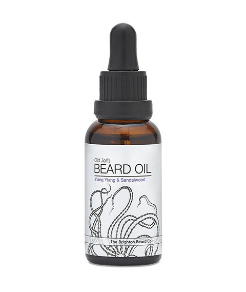 The Brighton Beard Co-Old Joll's Beard Oil Ylang Ylang & Sandalwood Olejek do Brody 30ml