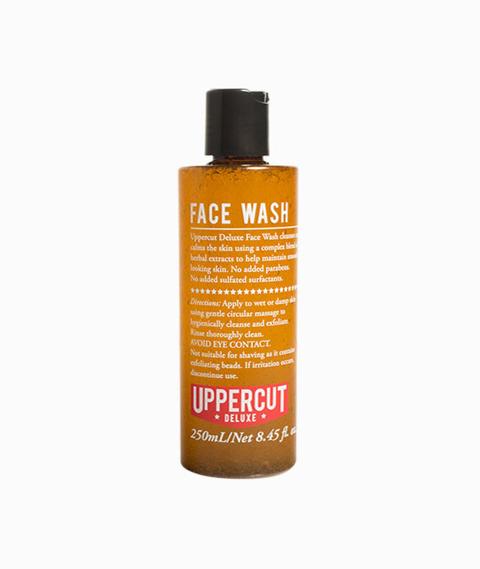 Uppercut Deluxe-Face Wash 250 ml Płyn do Mycia Twarzy z Peelingiem