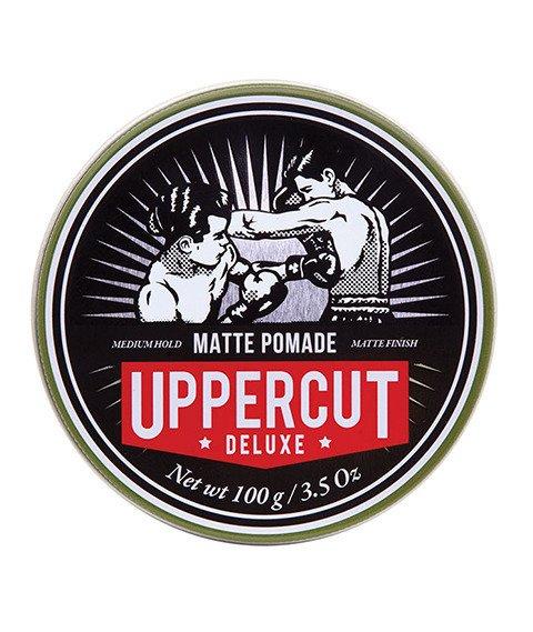 Uppercut Deluxe-Matt Pomade Matowa Pasta do Włosów 100g