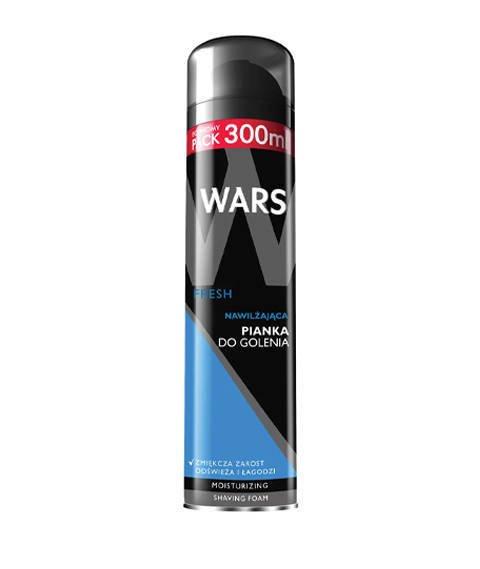 Wars-Nawilżająca Pianka Do Golenia Fresh 300ml